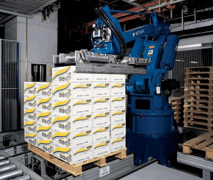 robot palletisation systems