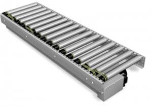 Q89 powered Roller Conveyors systems - Andrew's Automation Ltd