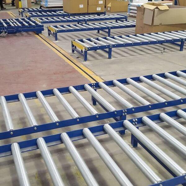 Gravity Roller Conveyor warehouse