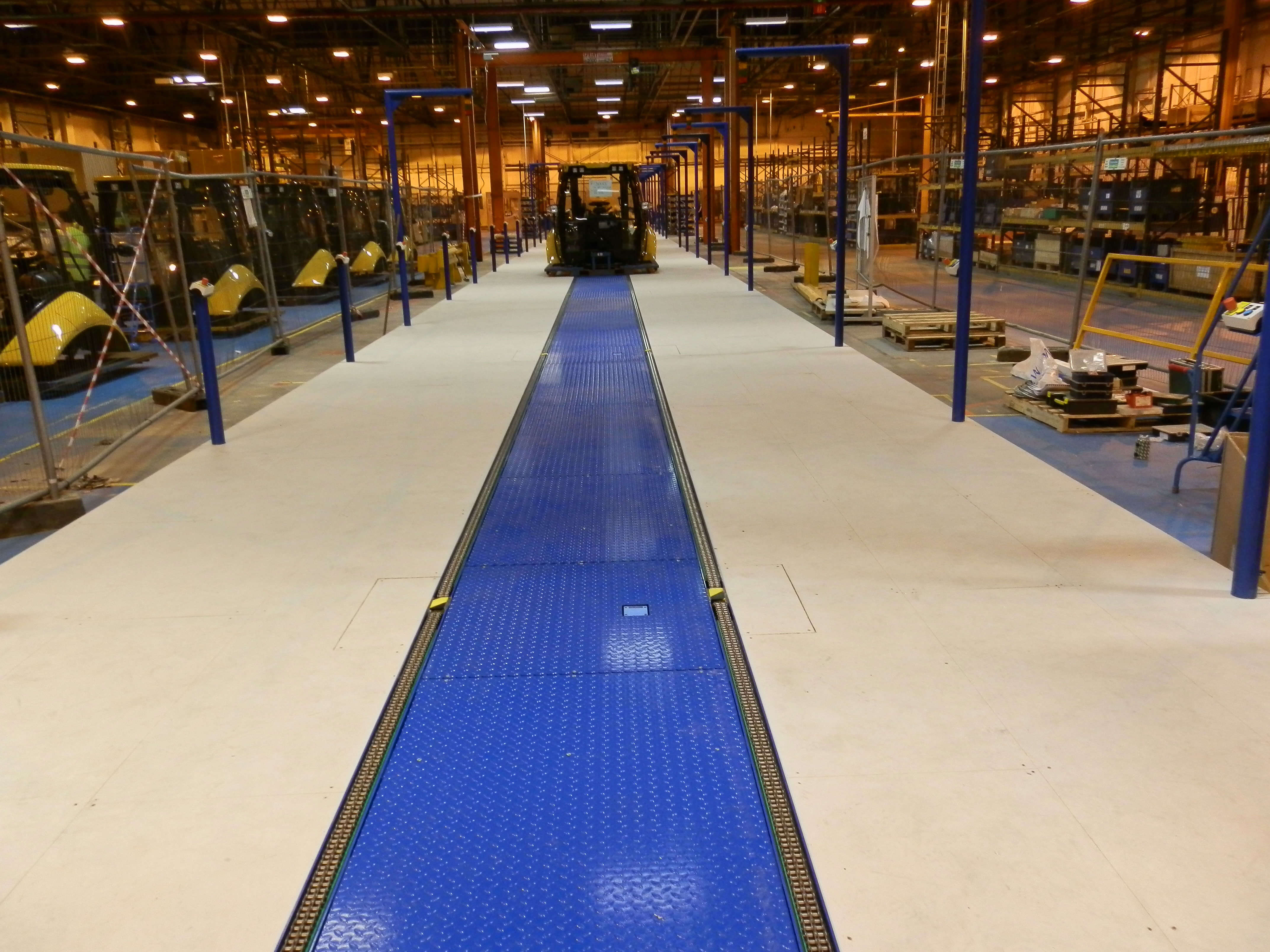 long chain conveyor system