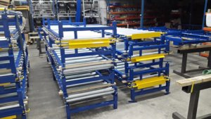 Gravity Conveyor Installation