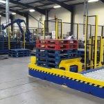 Robot palletisation