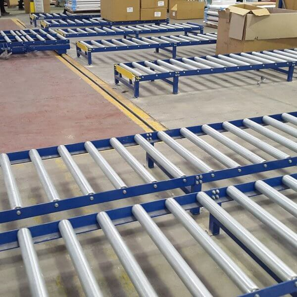 Gravity Roller Conveyor Systems