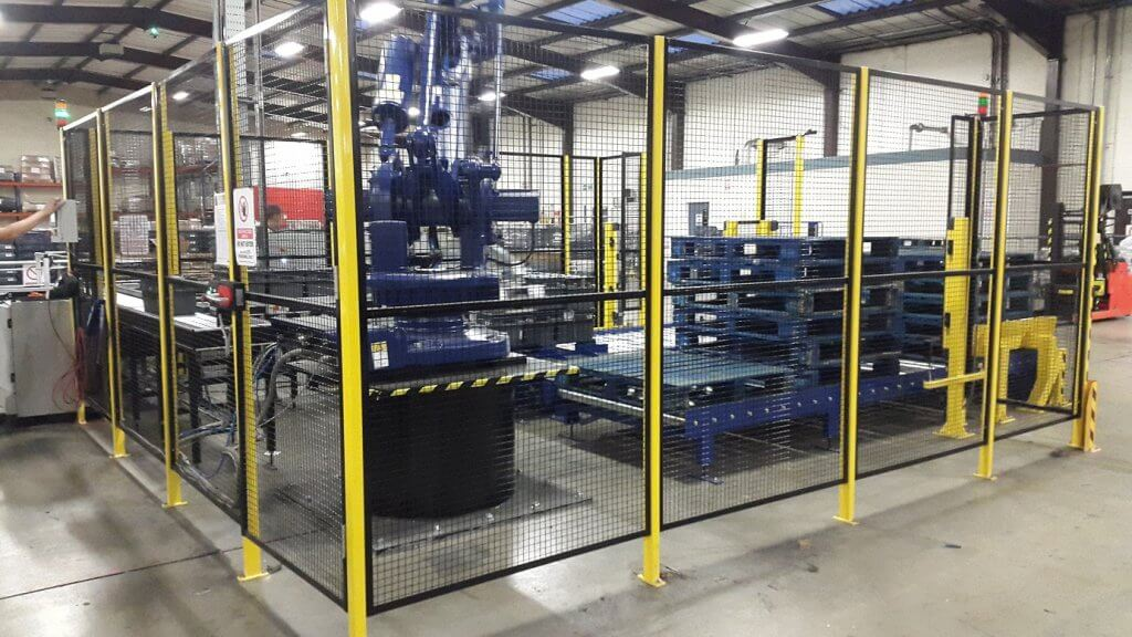 Robotic palletising system