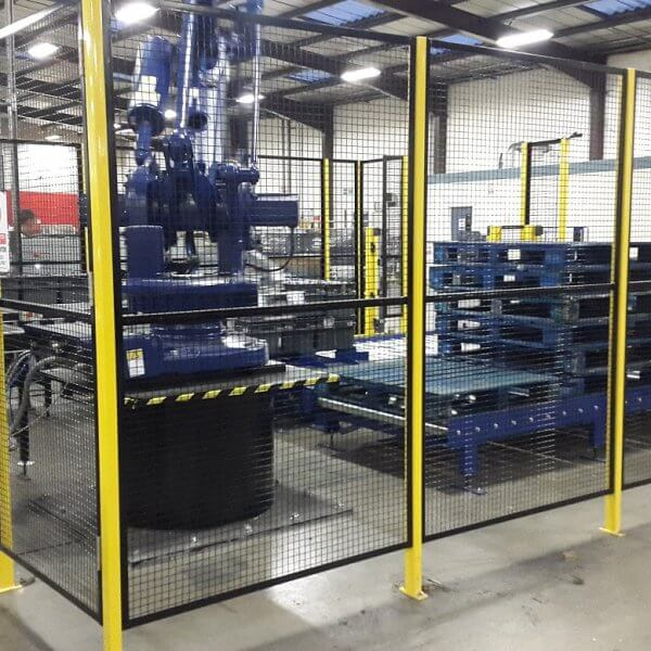 Robotic palletising system