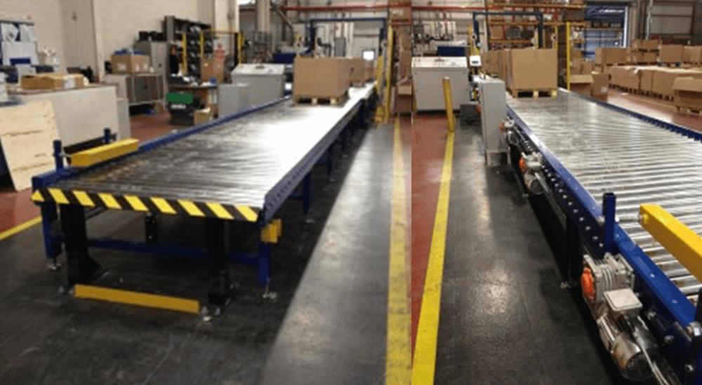 car manufacturer pallet strapping system