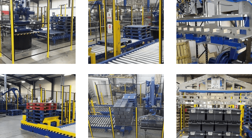 magazine distributor handling system