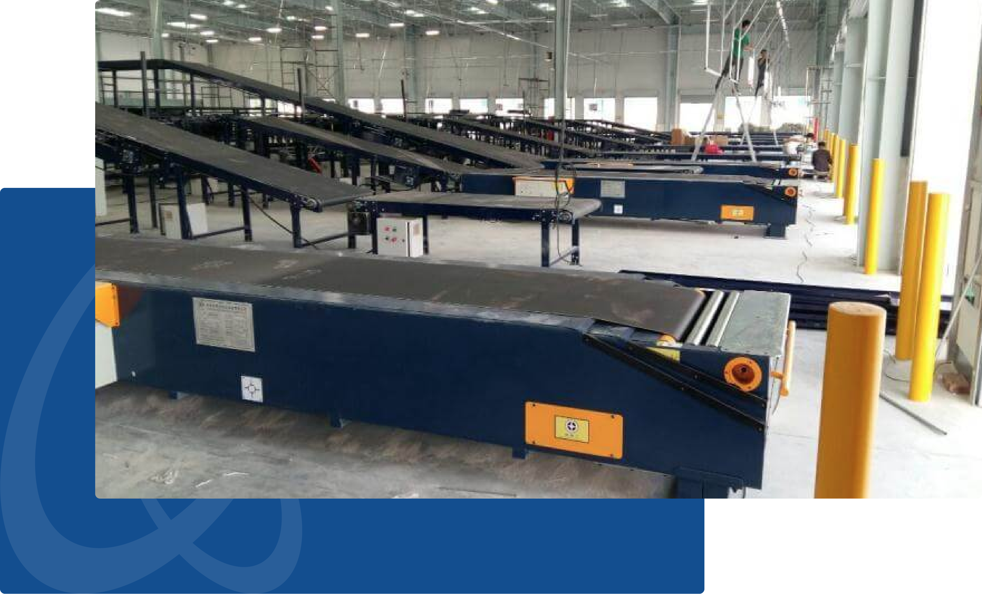 loading bay Telescopic Belt Conveyors