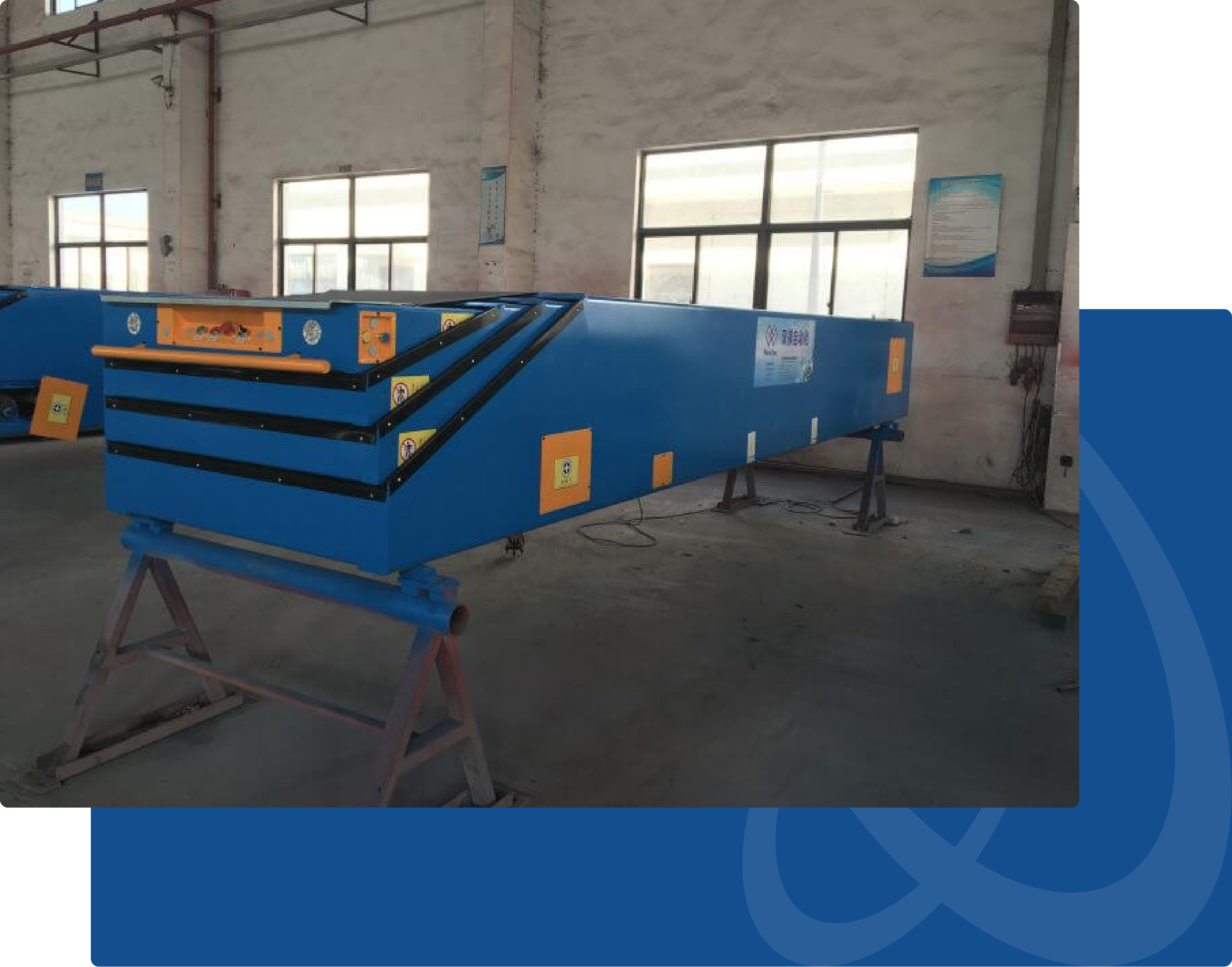 portable telescopic conveyor